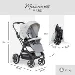 Hauck-Mars-Duoset-Pushchair-Leg-Cover-Baby-Tub-Seat-Rotatable-up-to-25-kg-284008206554-4