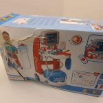 Smoby-340202-Kids-Medical-Trolley-Doctor-Playset-Portable-Cart-284029516757
