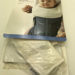 BabyBjorn-Teething-Bib-for-Baby-Carrier-One-White-284026147778