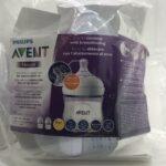 Philips-Avent-SCF030-27-125-ml-Natural-Bottle-Pack-of-2-Baby-Bottles-Clear-284047823238